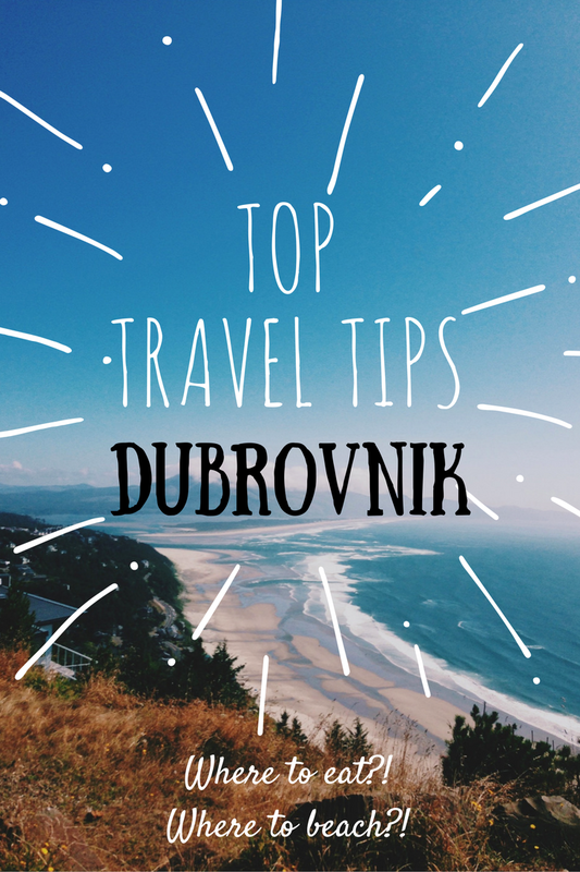 Top Travel Tips for Dubrovnik